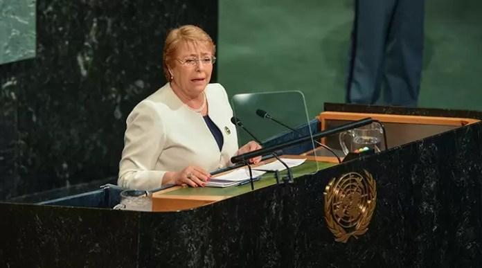 Birleşmiş Milletler İnsan Hakları Yüksek Komiseri Bachelet