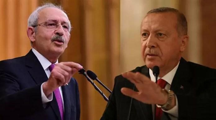 Kemal Kılıçdaroğlu Recep Tayyip Erdoğan