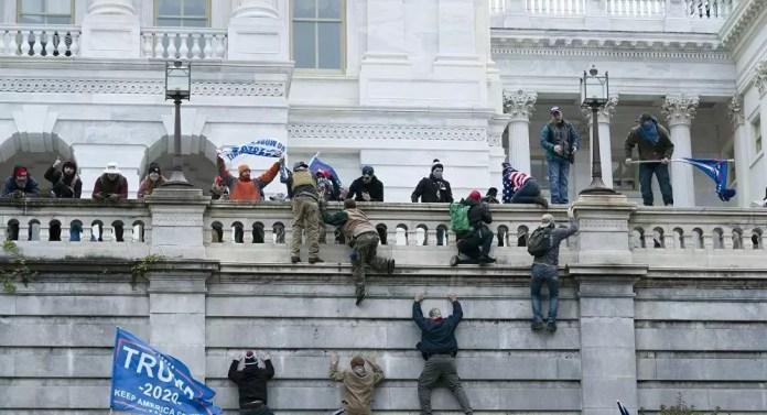 Kongre işgali Beyaz Saray baskını