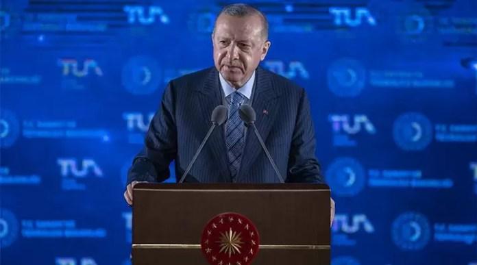 Tayyip Erdoğan milli uzay programını