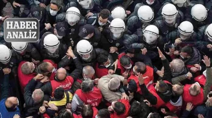 Polis baskı eylem