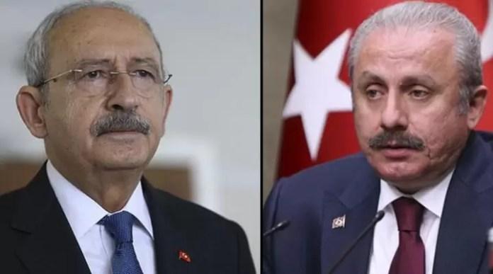 Kemal Kılıçdaroğlu Mustafa Şentop