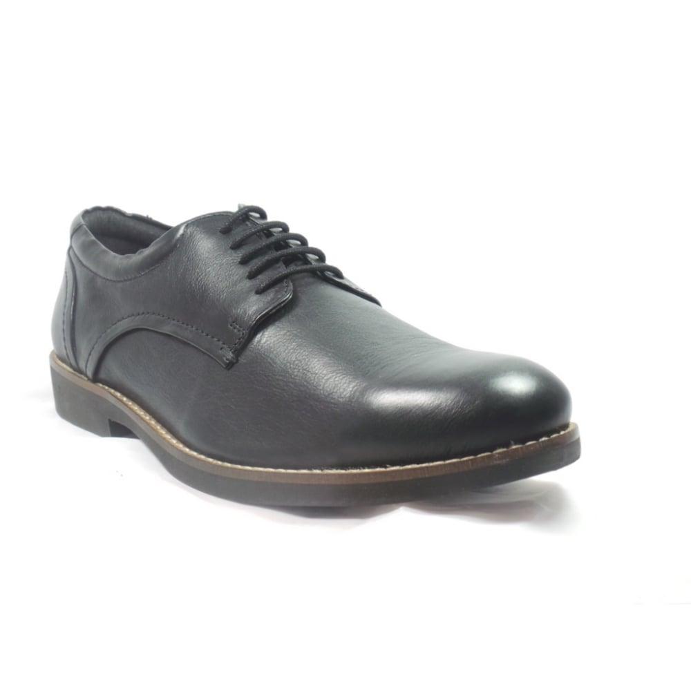 Black Flat Evening Shoes