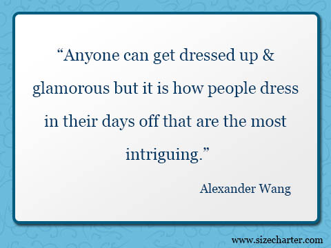 Alexander Wang quote