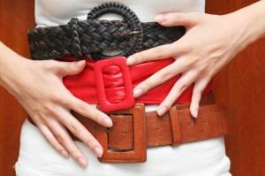 women belt size