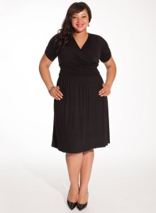 7de15e9ea8f49 The Search for the Perfect Plus Size Little Black Dress - SizeCharter