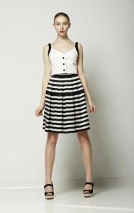 knee length skirt style