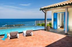 Meerblick Sizilien Villa Ala