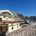 Blick auf Ferienwohnung Taormina
