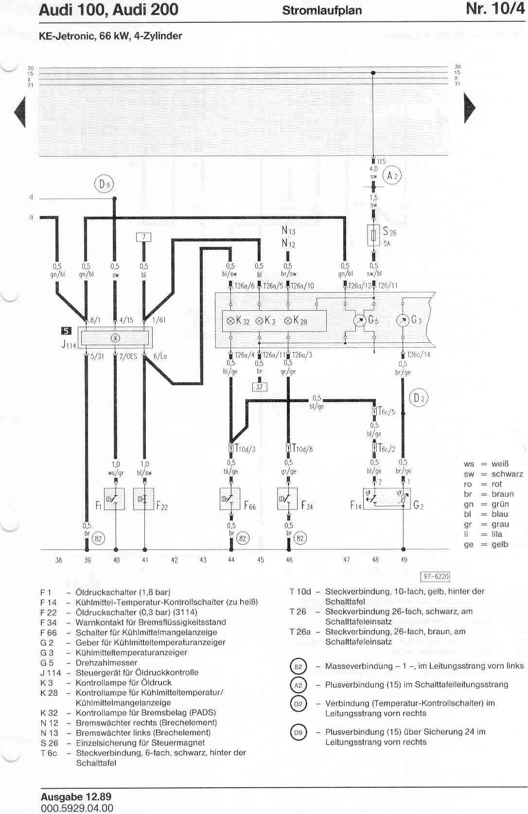 Wrg Audi 90 Quattro Wiring Diagrams