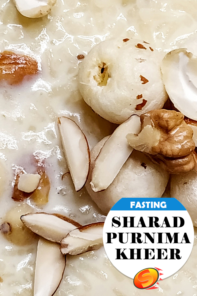 Sharad Purnima Kheer | (Milk + Rice + Lotus Seeds + Nuts + Awesome)
