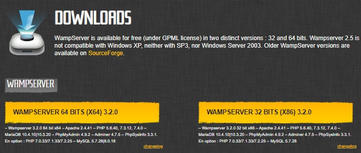why use wamp server to install wordpress