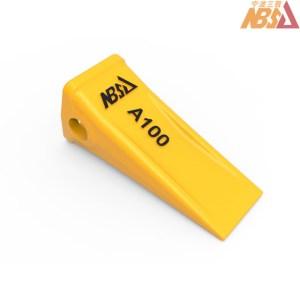 PC100 A100 alloy steel casting mini excavator bucket teeth
