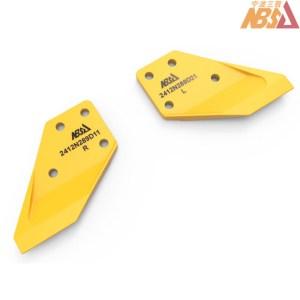 Kobelco style Bucket Side Cutter Blades 2412N289D11 2412N289D21
