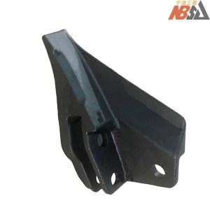 Mini digger bolt-on style bucket teeth Kubota Case JCB