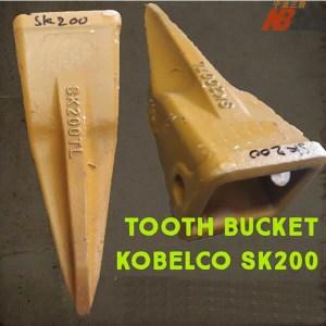 SK200TL Pick Tip Tooth Bucket Kobelco SK200