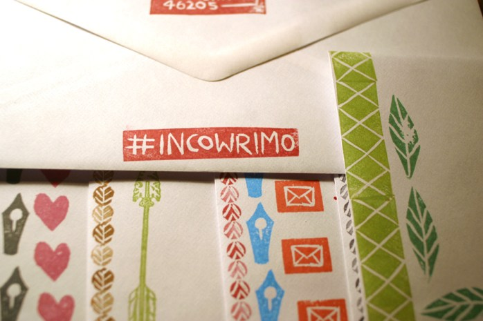InCoWriMo stamped