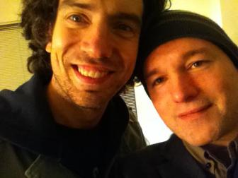 Gary Lightbody and Saint John