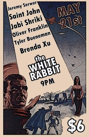Acoustic Armageddon at the White Rabbit in Fremont