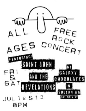 Galaxy Chocolates presents Saint John and the Revelations