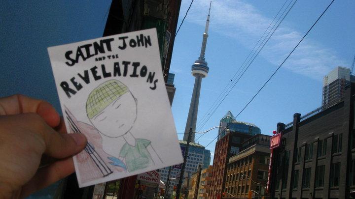 SJATR sticker at the CN Tower in Toronto (thanks, Emily!)