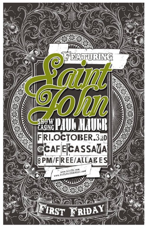 Saint John and the Revelations at Cassava with Paul Mauer