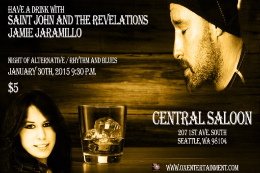 Saint John and the Revelations Live at the Central Saloon