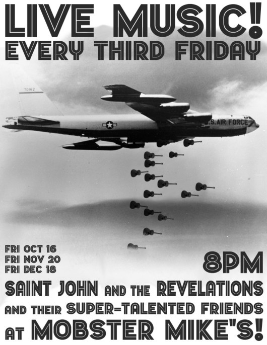 Saint John and the Revelations at Mobster Mike's in Bremerton WA