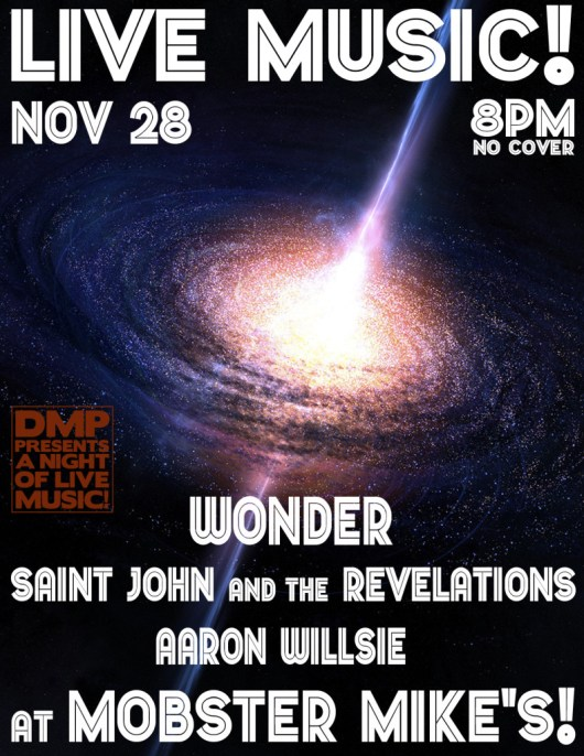 Saint John and the Revelations and Wonder live at Mobster Mike's