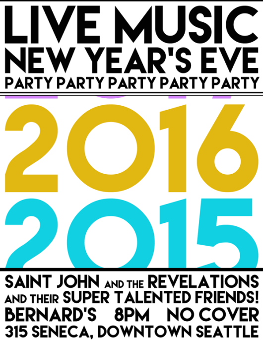 New Year's Eve 2015 Seattle