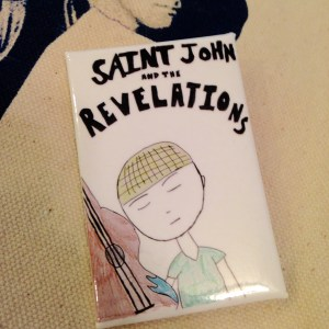 Saint John and the Revelations Button