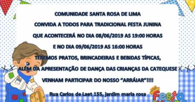 Festa Junina da Com. Santa Rosa de Lima