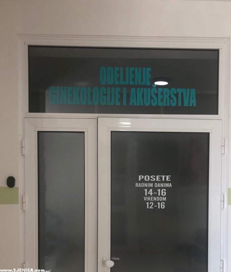 08.05.2020. u sjenickom domu zdravlja rodjene su 4 bebe - Sjenica - odeljenje ginekologije i akuserstva