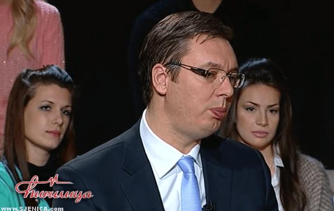 Cirilica - Premijer Vucic