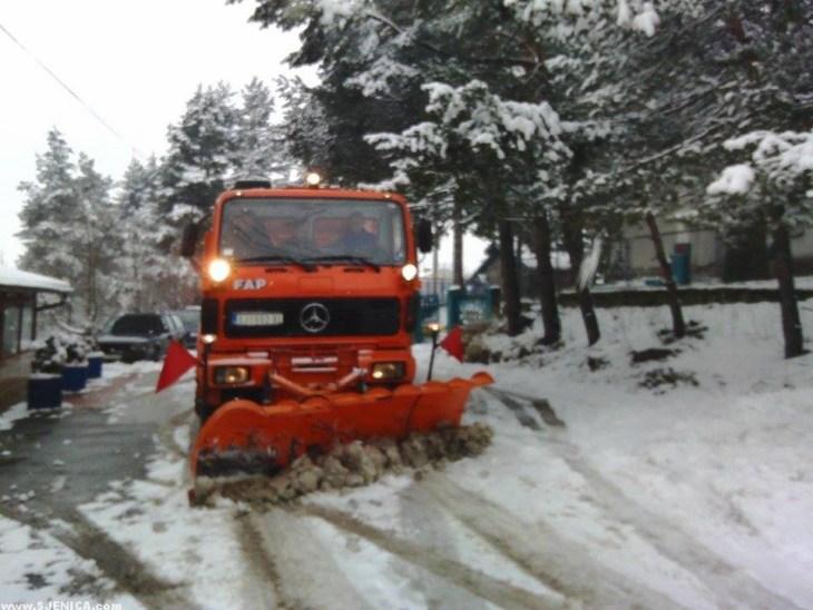 Cistaci snega Sjenica 31.01.2015.
