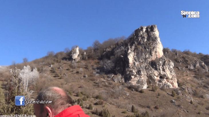 Devojacka stijena - Sjenicko jezero