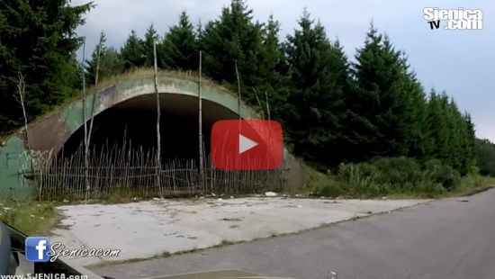 Dubinje - Bivsi vojni aerodrom, napusten i srusen 1999 god od NATO-a / Sjenica 2015