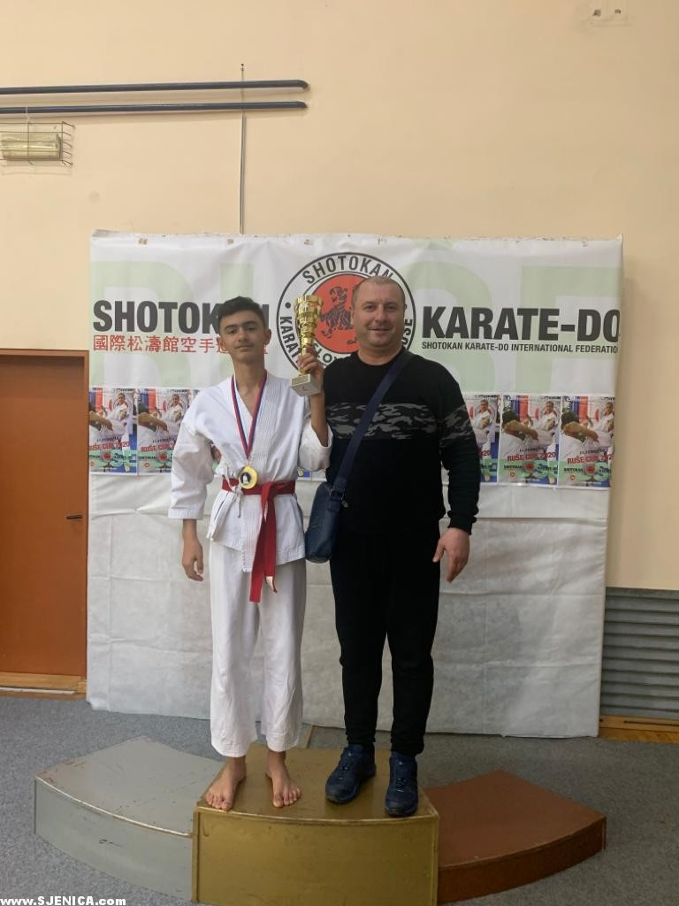 Imran Zenovic Maribor Karate Kup - Sjenicak