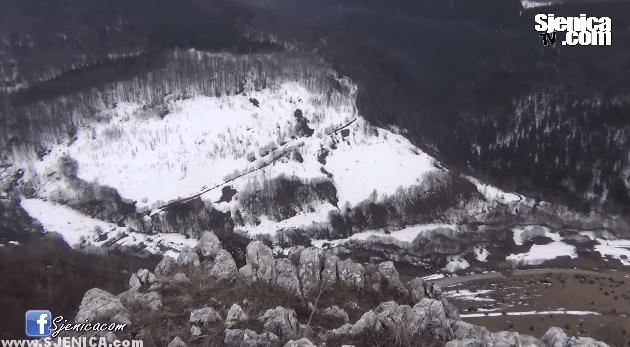 Planina Ogorijevac - Sjenica April 2015
