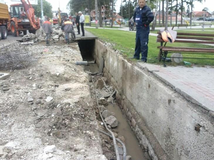 Pocetak izgradnje setalista u Sjenici 15.05.2015. - 6