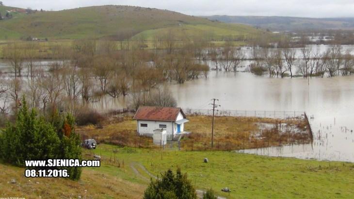 Poplava u Sjenici - 08.11.2016. - www.SJENICA.com