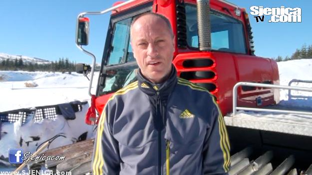 Almir Dzekovic - trener biatlon reprezentacije Srbije u Zarima / Sjenica
