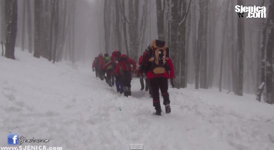 Planinari Zmajevac u Gorazdu / Februar - Mart 2015
