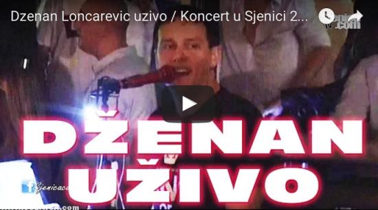 Dzenan Loncarevic uzivo koncert u Sjenici / Sjenica - leto 2011 - kafic VaVaZu