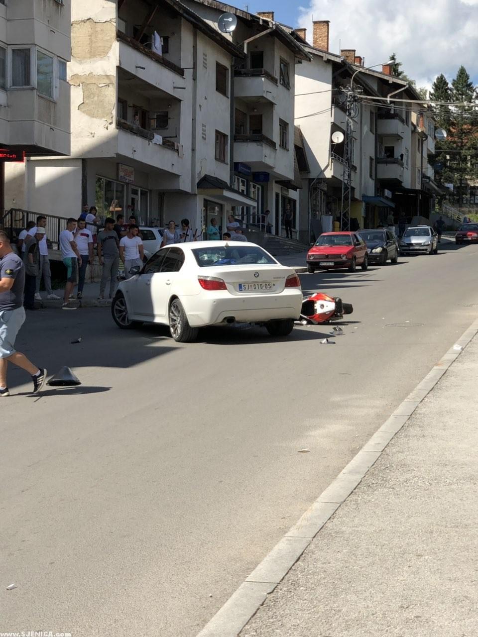 Udes Sjenica - BMW motor