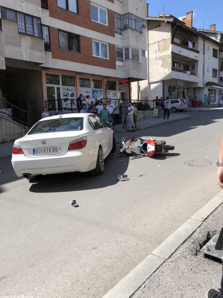 Udes Sjenica - BMW motor 4