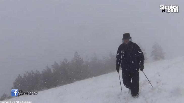 Zimska oluja na revuši - januar 2016 - Sjenica