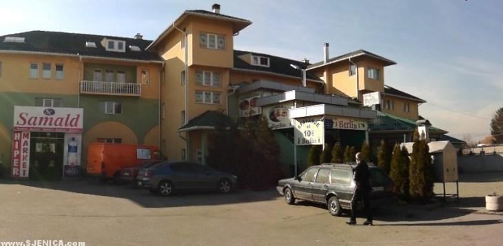 centar za azilante u Sjenici / Berlin