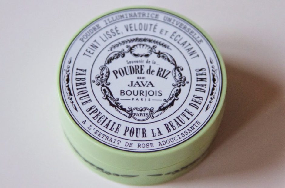 Bourjois poudre de riz de java review beautiful box face powder gezichtspoeder matte glowing review