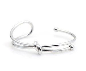 Mulberry bayswater small armband knoop armband bracelets wishlist luxe zilveren armband unieke mooie